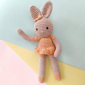 Valerie-Crochet-Boneka Rajut Bunny