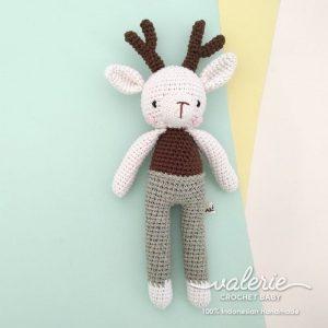 Valerie Crochet Boneka Rajut Lucu Deer