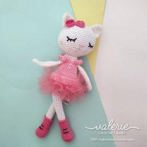Voneka Rajut Kitten Tutu - Valerie Crochet