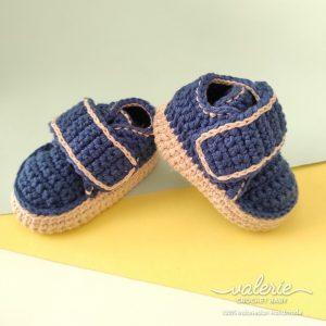 Sepatu Rajut Oldish - Valerie Crochet