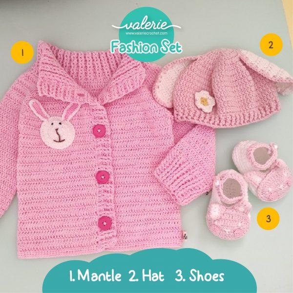 Valerie Crochet - Fashion Set Ear Flap