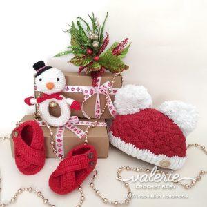 Set Rajut Cute dari Natal Valerie Crochet