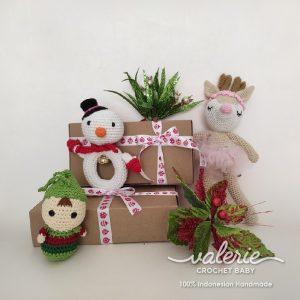 Set Rajut Natal Super Cute dari Valerie Crochet