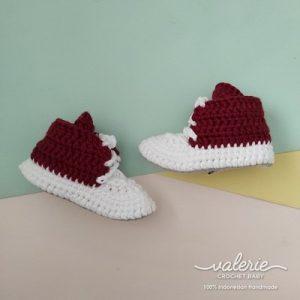 Sepatu Rajut Brownie - Valerie Crochet