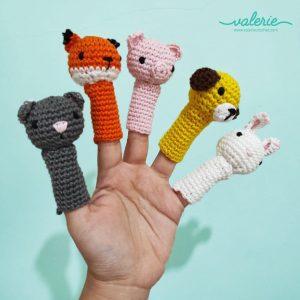Finger Dolls Rajut - Valerie Crochet