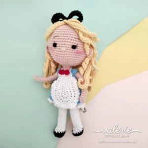 Boneka Rajut Princess Alice - Valerie_Crochet