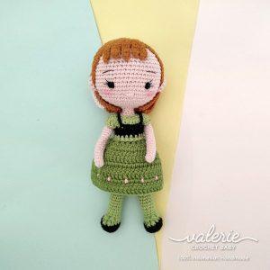 Boneka Rajut Princess Anna - Valerie_Crochet