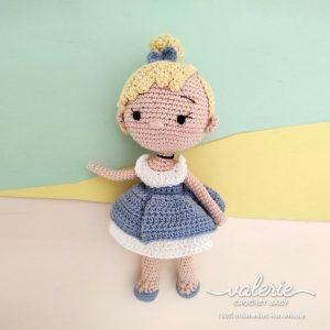 Boneka Rajut Princess Cinderella - Valerie_Crochet