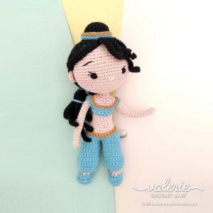 Boneka Rajut Princess Jasmine - Valerie_Crochet