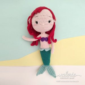 Boneka Rajut Princess Mermaid - Valerie_Crochet