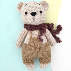 Boneka Rajut Henry Bear - Valerie Crochet