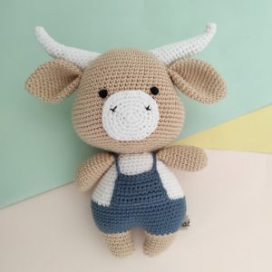 Boneka Rajut Ralph Buffalo - Valerie Crochet