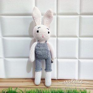 Boneka Rajut Raphael Bunny - Valerie Crochet