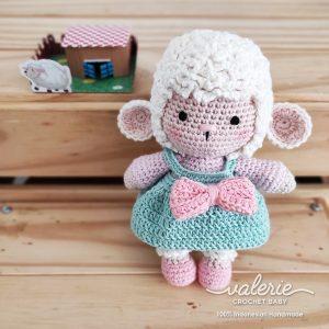 Boneka Rajut Sheepi the Sheep - Valerie Crochet