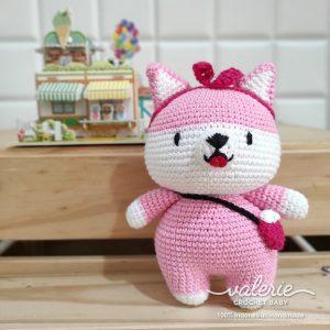 Boneka Rajut Grunchie Fox - Valerie Crochet