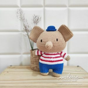Boneka Rajut Sailor Pet- Valerie Crochet