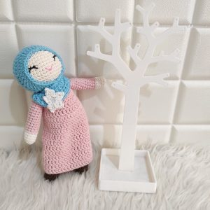 Boneka Hijab Lucu - Valerie Crochet