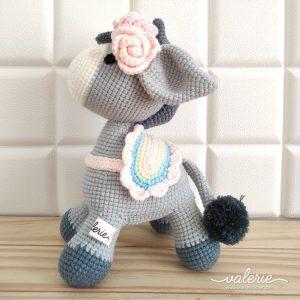 Boneka Rajut Dorsie Horse - Valerie Crochet